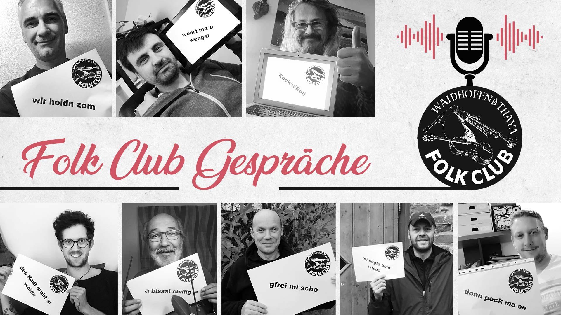 FOLK CLUB GESPRÄCHE